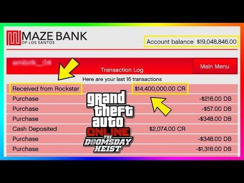 Awesome Rockstar Giving Out Millions Of Dollars In Free Money To Players Gta Online Doomsday Heist Dlc