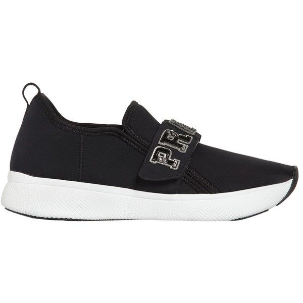 Low Price For Sale Prada 30MM LOGO STRAP NEOPRENE SNEAKERS Manchester Cheap Online Outlet Cheap Quality Wholesale Price Sale Online Purchase Your Favorite FYkO8