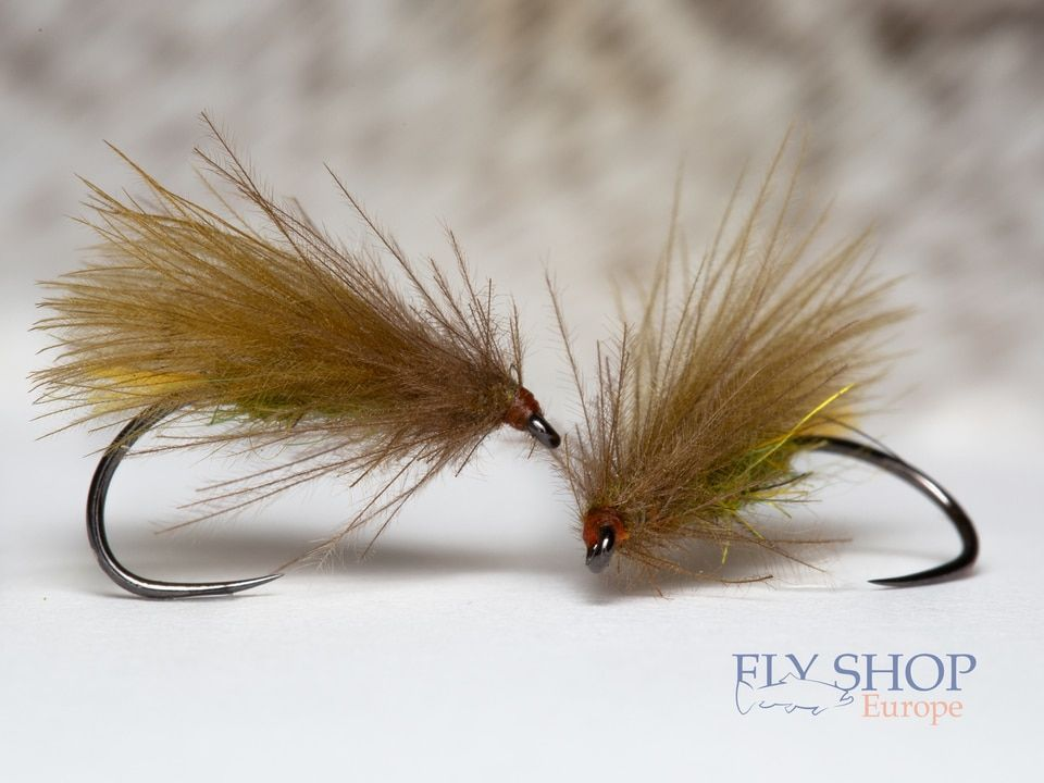 Trout 1 Dozen Orange Elk Hair Caddis Dry Fly