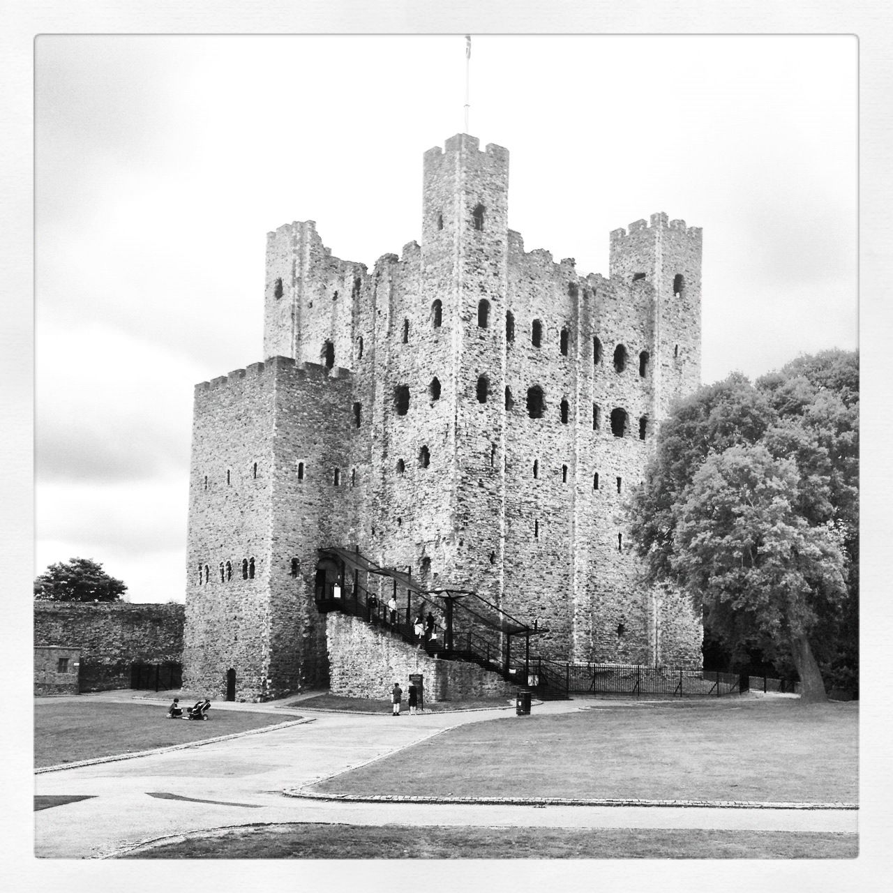 Abandoned Places Medway: Rochester Castle - Kent, England. Visitable.