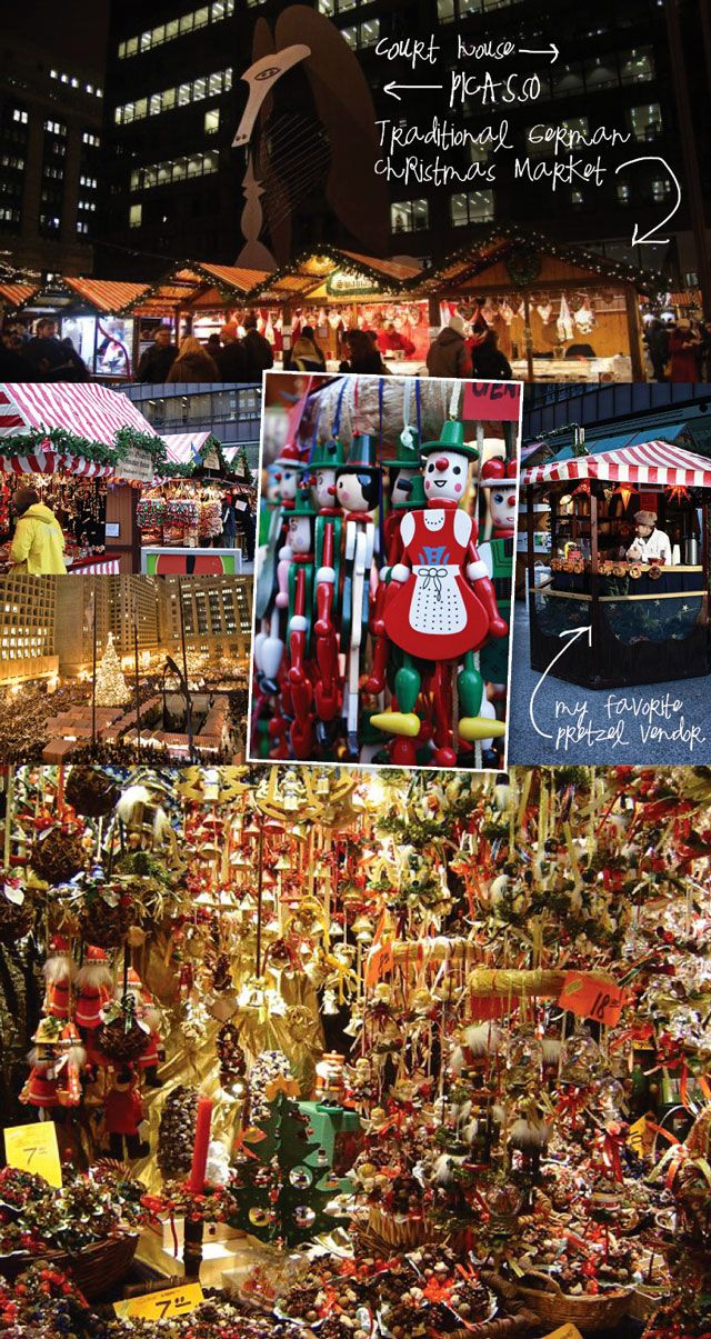Chicago German Christmas Market.Pin On The Magic Of Christmas Weihnachten