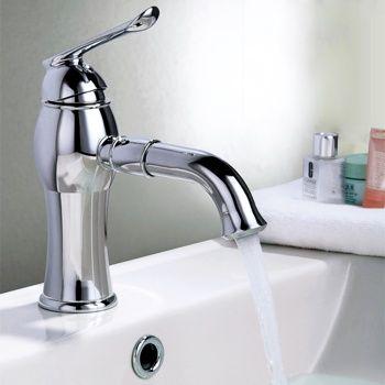 Koton Single Handle Bathroom Faucet Chrome Finished $89.99 homary ...