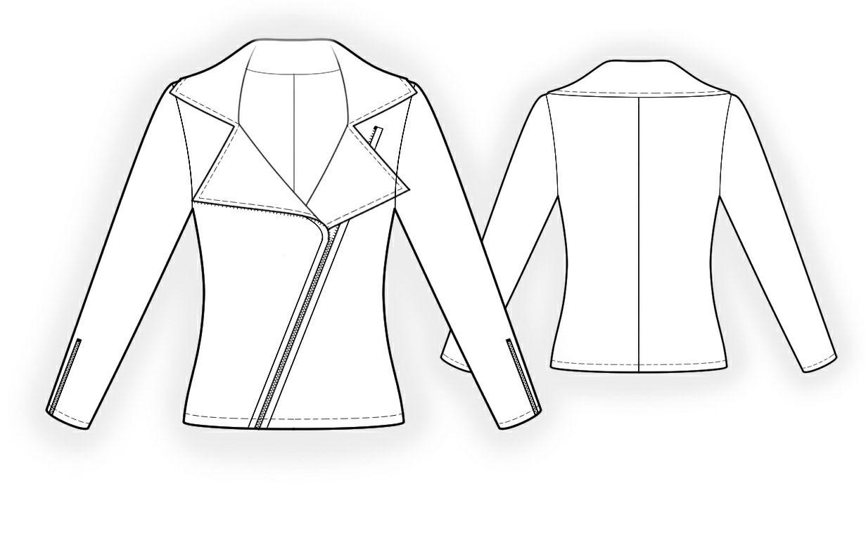 Sweatshirt - Schnittmuster #4336 Maßgeschneiderte Schnittmuster von ...