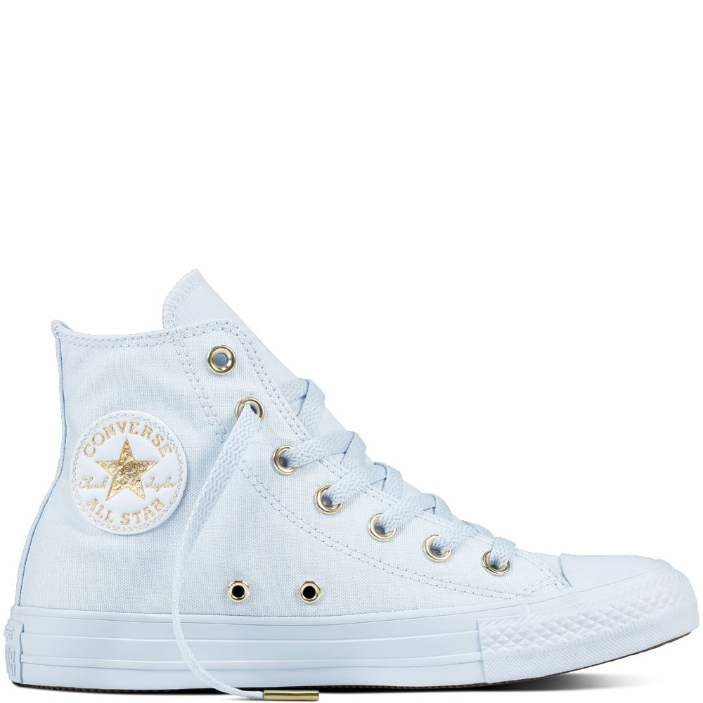 647a24eca270 Chuck Taylor All Star Mono Glam Blue Tint Blue Tint Gold blue tint blue  tint gold