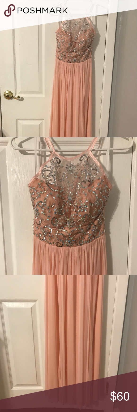 Long light pink prom dress long lights windsor fc and dress prom