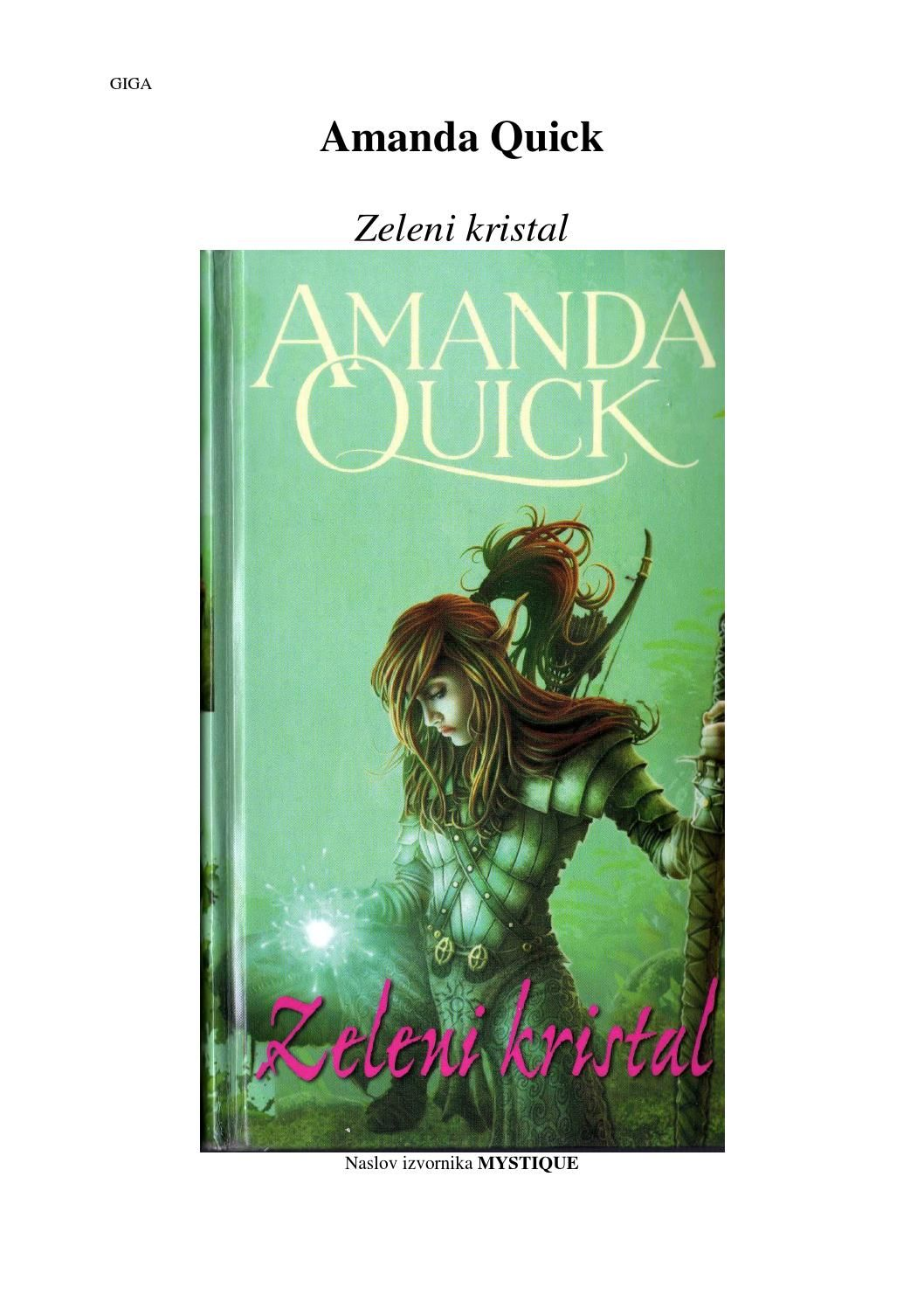 Amanda Quick Zeleni Kristal