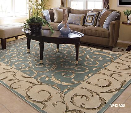 www.rugssc.com  Another gorgeous European design area rug in French aqua blue! A marvelous tapestry effect is presented in this lush, lovely rug with elegance, balance and charm. .  Stunning!   Free US shipping  (843)497-