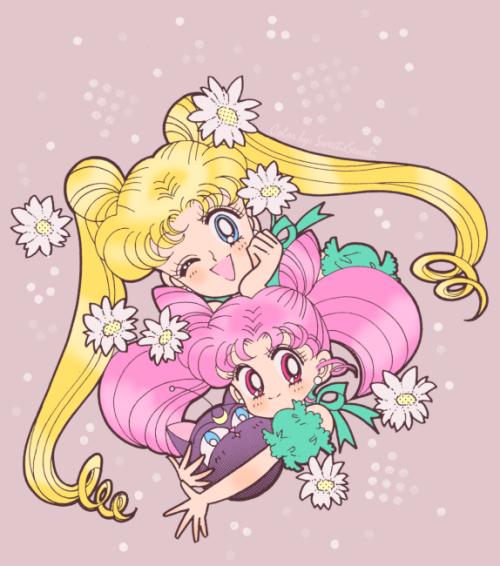 Original artwork: Naoko TakeuchiManga scan: Miss DreamEdit and color: SweetieSenshi