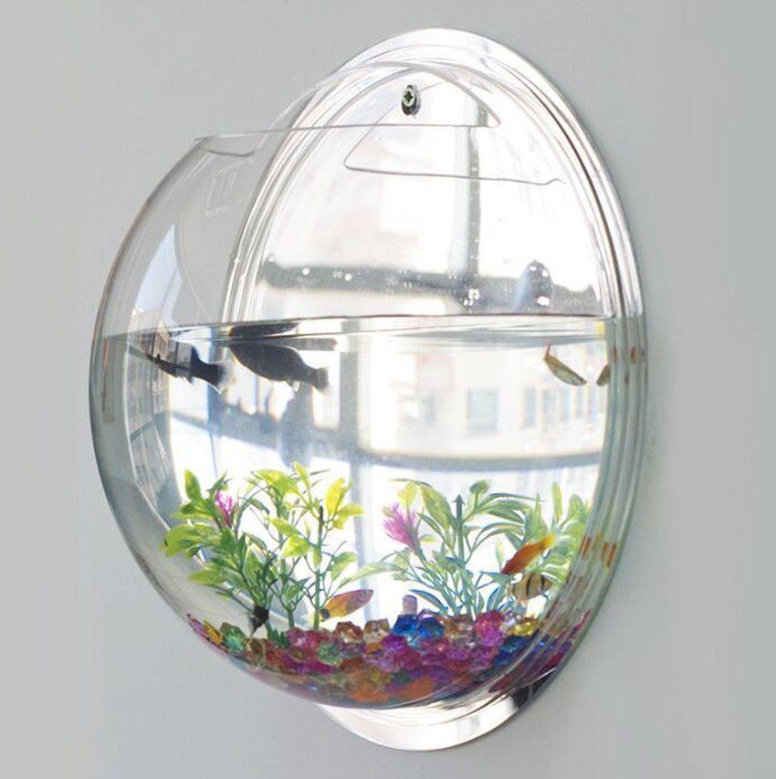 Wall Fish Tank Bowl