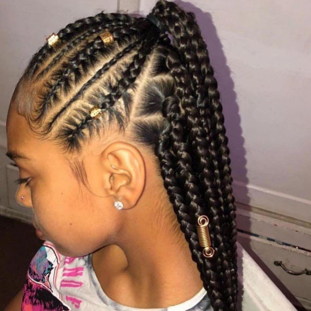 𝓹𝓻𝓮𝓮𝓽𝓲𝓿𝓲𝓬𝓴𝓲 Kids Braided Hairstyles Braided Hairstyles Girls Hairstyles Braids