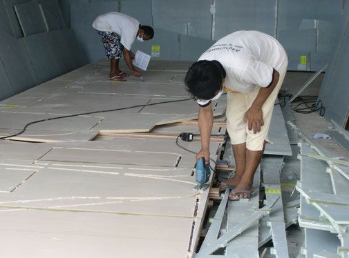Catamaran Construction with a DuFlex Kit