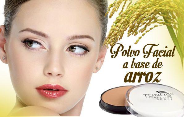 Ya conoces nuestro polvo facial a base de arroz?  Conoce las propiedades de nuestro polvo de arroz, el polvo preferido por quienes se preocupan no solo por verse  bellas, sino por conservar la salud y belleza de su piel.