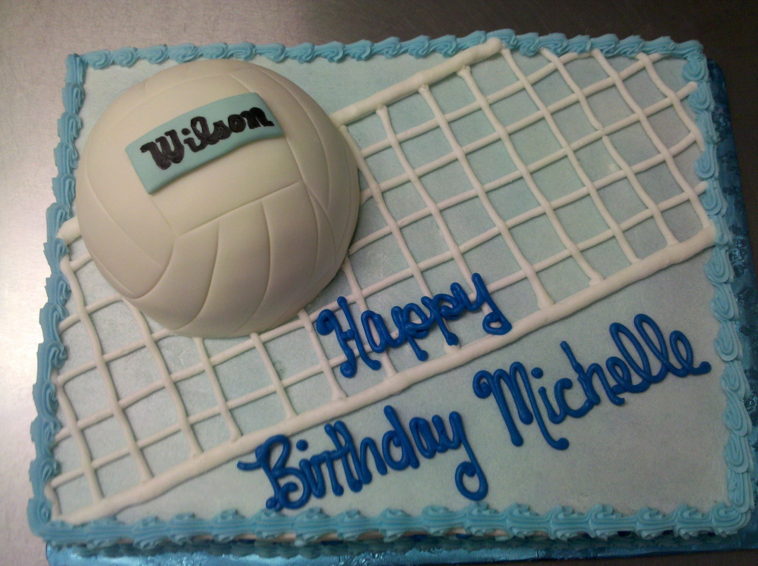 Volleyball Birthday Cake With Images Volleyball Cakes Volleyball Birthday Cakes Volleyball Birthday Party