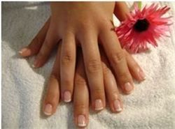 #solidlac French Manicure treatment. #nails