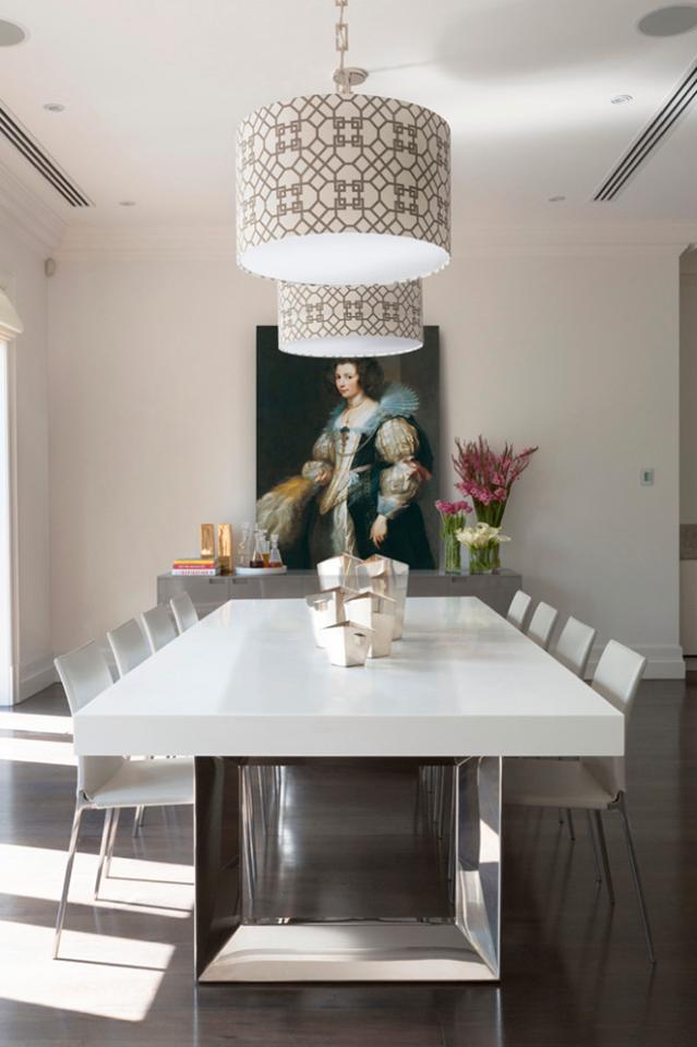 Luxurious Corian Dining Table