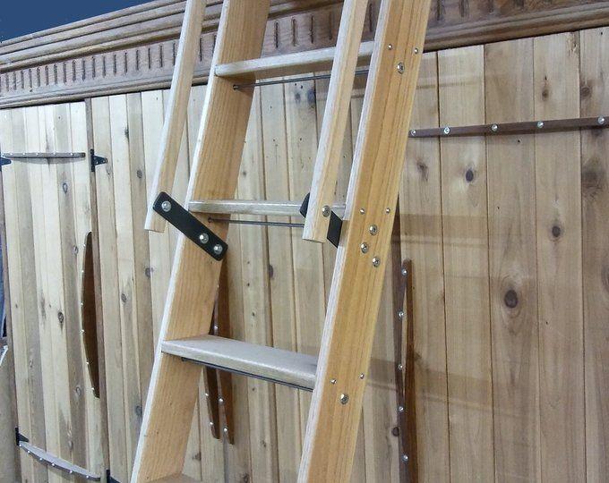 Best Handrails For Library Or Loft Ladder Metal Or Wood Etsy Scări 400 x 300