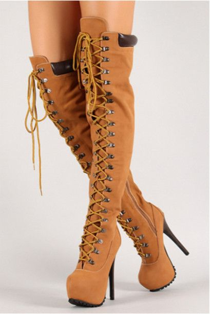 80034732e6d Image result for timberland heels. Image result for timberland heels Thigh High  Platform Boots ...