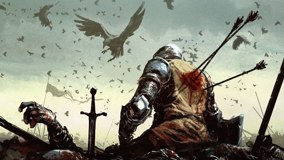 wounded knight wallpaper