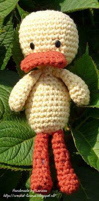 Crochet-licious: Little duck