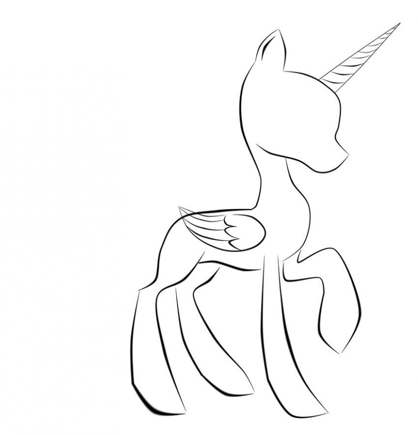 My Little Pony Coloring Pages Base My Little Pony Drawing My Little Pony Coloring Pony Drawing