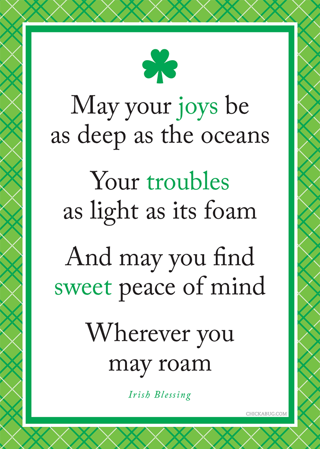 Irish Blessing Quotes one pretty pin Irish blessing | Me and Abi Always 4ever | Irish  Irish Blessing Quotes
