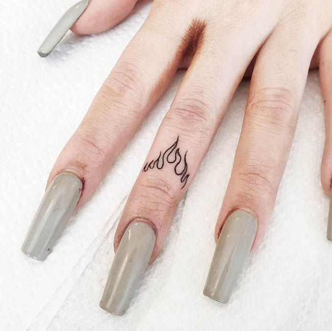 Photo of 65 Unique Small Finger Tattoos With Meaning – Our Mindful Life