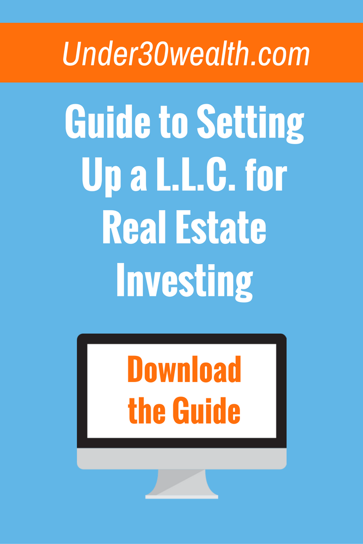 How To Set Up A Llc For Real Estate Under 30 Wealh Real Estate Tips Wholesale Real Estate Buying Investment Property