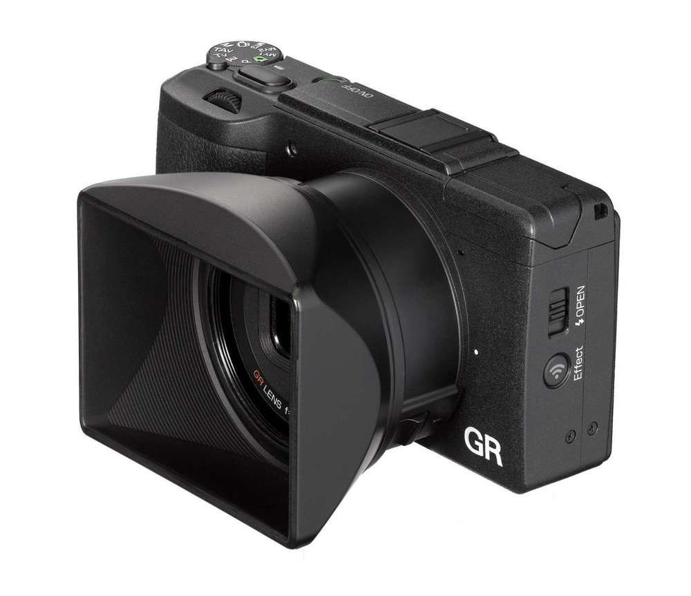 Brand new boxed ricoh gh3 adapter and lens hood digital