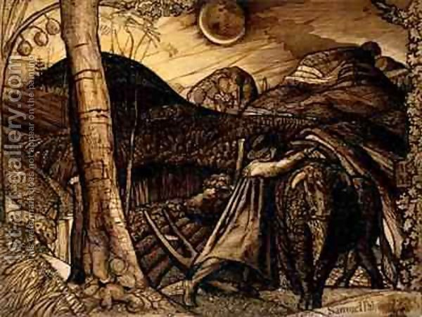 Image detail for -... 1823 Samuel Palmer | Oil Painting Reproduction | 1st-Art-Gallery.com