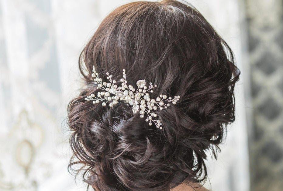 من اهم الاشياء اللى بتاخد تفكير و اكبر وقت في مرحلة ما قبل يوم الزفاف لكل فتاة هي تسريحه الشعر و كيفية ال Bridal Hair Headpiece Bridal Hair Bridal Hair Pieces