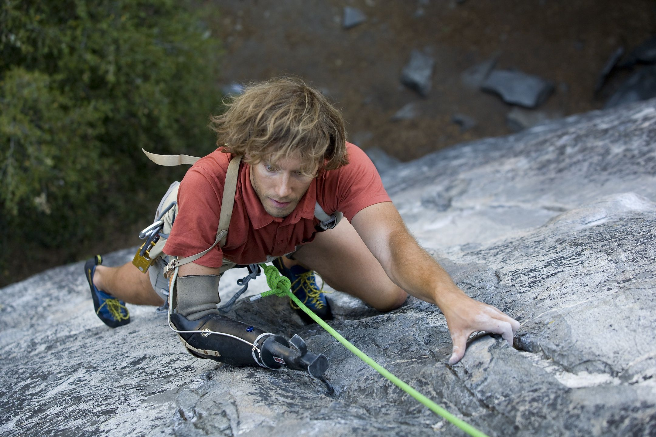 Aron Ralston Climbing Yosemite S Nutcracker