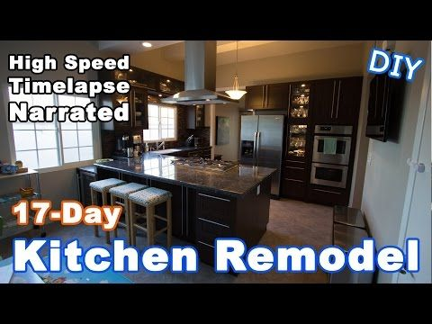 15) Kitchen Remodeling Timelapse Narrated - YouTube | Kitchen ...