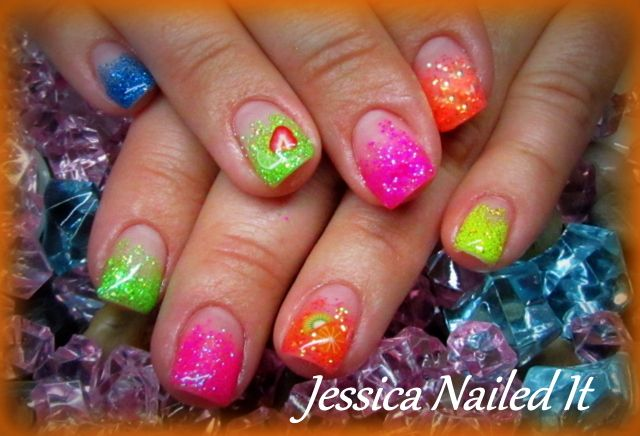 Designer Gel Nails Gel Nails Pinterest Makeup