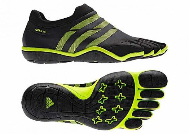 finger shoes adidas