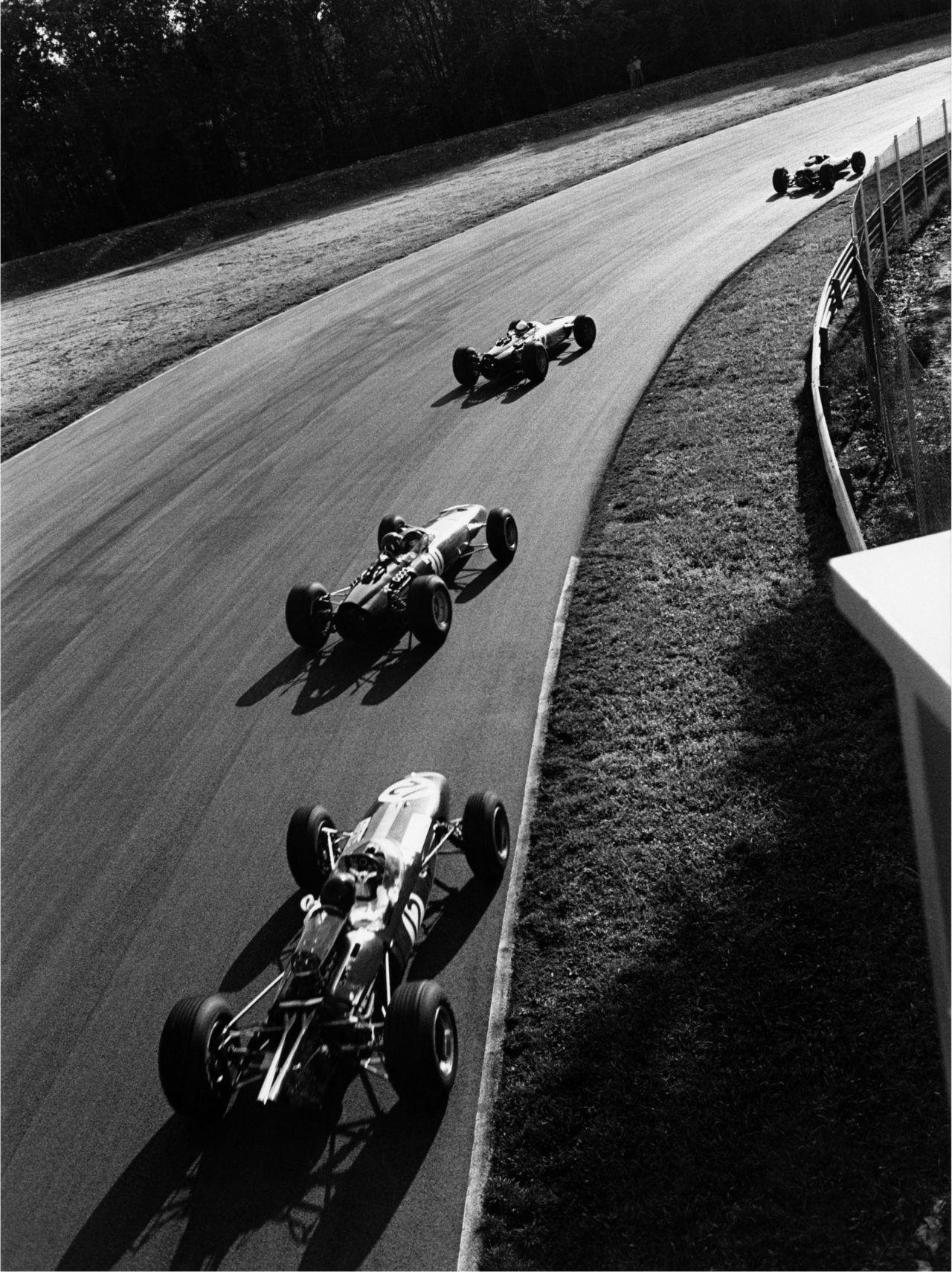 Italian Grand Prix, Monza, 1965  Jim Clark, eventual winner