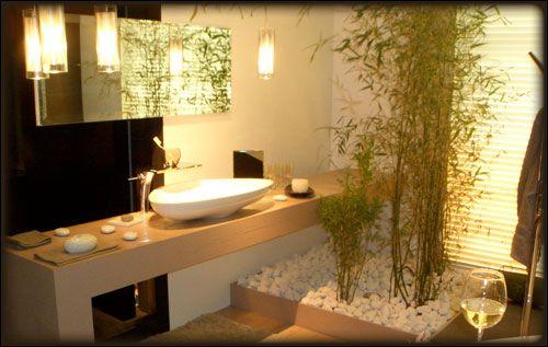 Attrayant Décoration Salle De Bain Zen Bambou