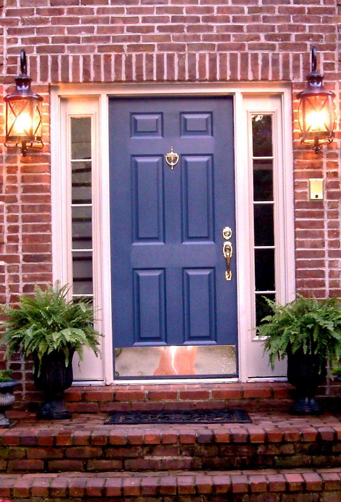 Wait...What Color is Our Brick | Door colors | Pinterest ...