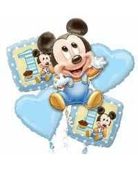 Bouquets de Ballon - Mickey 1st Birthday Boy