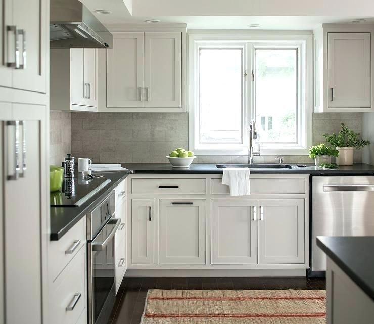 Grey Quartz Countertops White Cabinets Dark Gray Light Grey