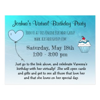 Virtual Birthday Parties Time for the Holidays in 2020
