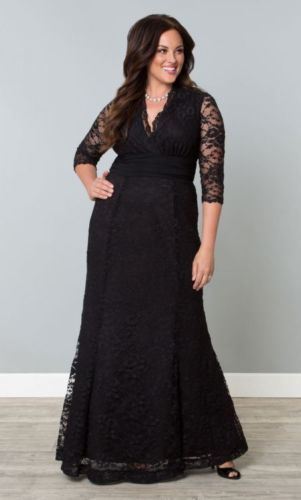 89fb8e7db032f Kiyonna Black Lace Gown - Perfect for your next formal occasion. We love  shopping NYC for you!