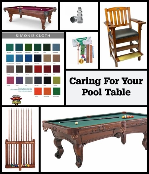 Pool Table Care 101. A Little TLC Goes A Long Way.   Entertaining Design