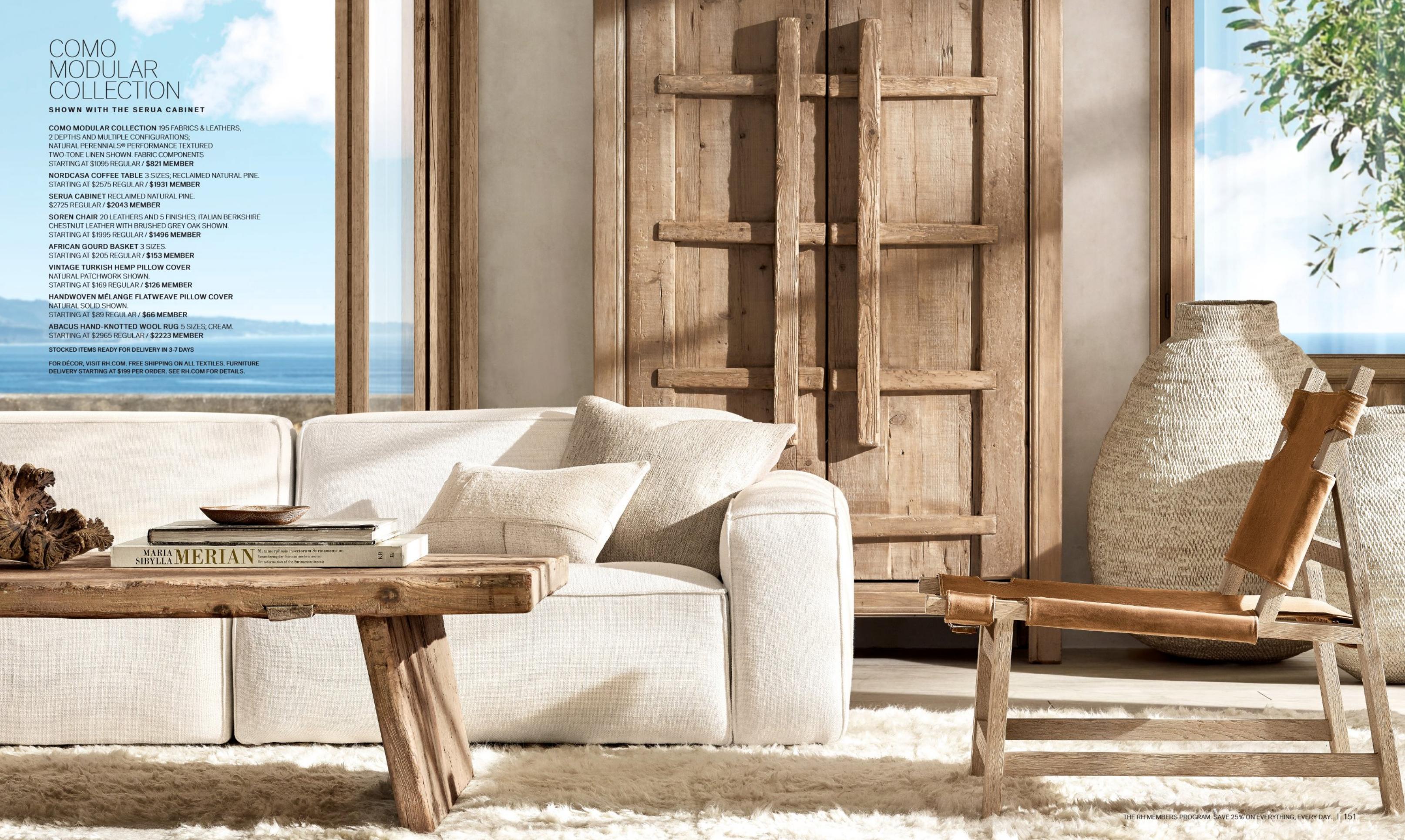 Rh Mykonos Beach House Beach Living Room Rh Living Room Beach House Bedroom [ 1930 x 3228 Pixel ]