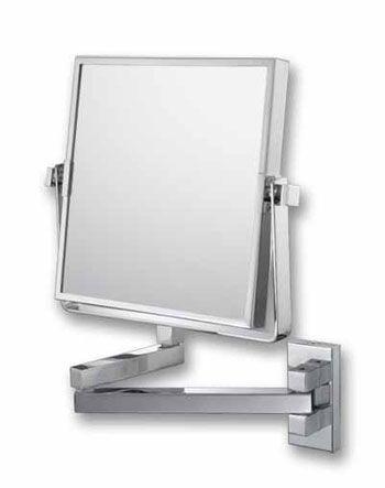 Kimball u0026 Young 240 Series 3x/1x Reversible Square Wall Mount Makeup Mirror