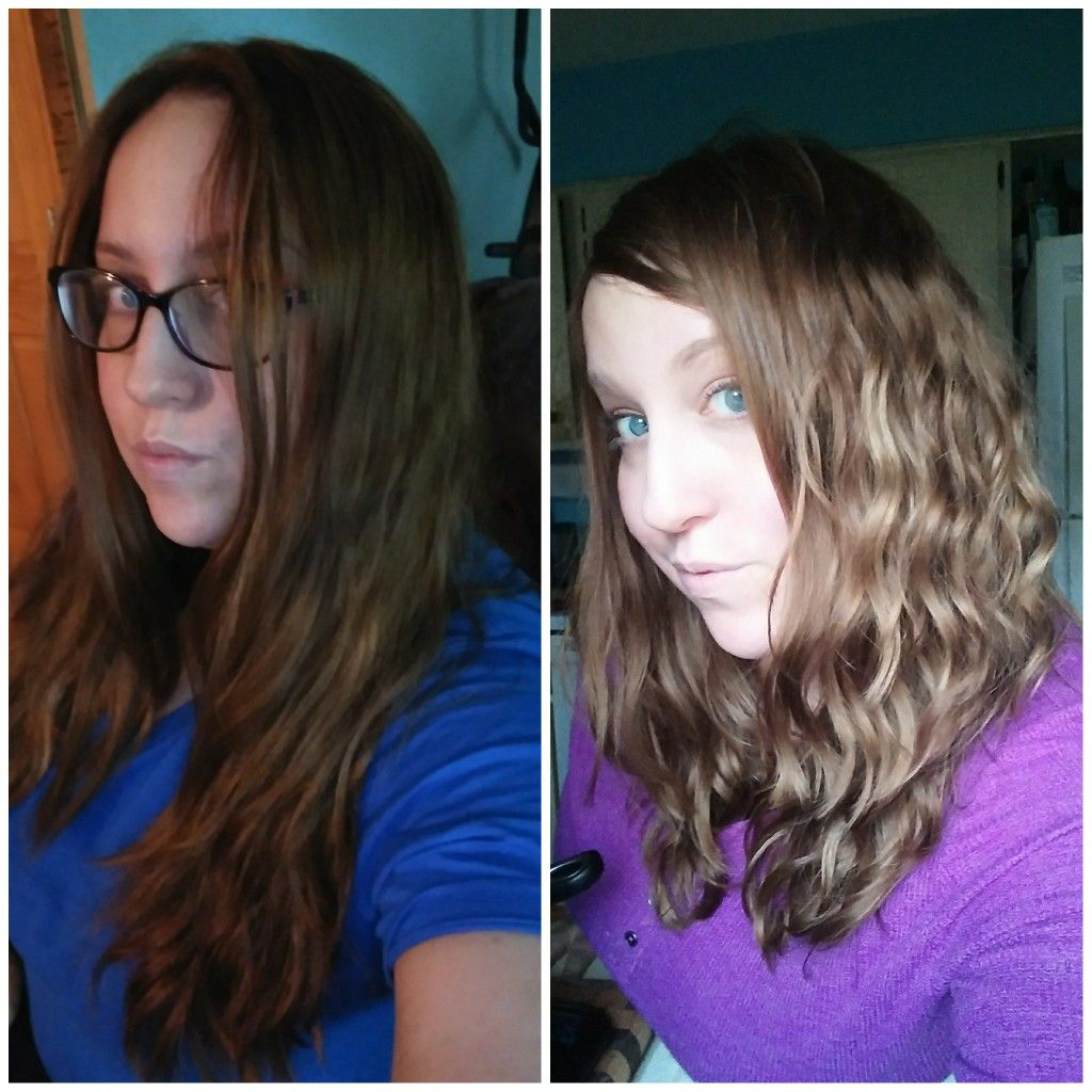 Before And After Curly Girl Method Curly Girl Method Curly Girl Curly Hair Styles
