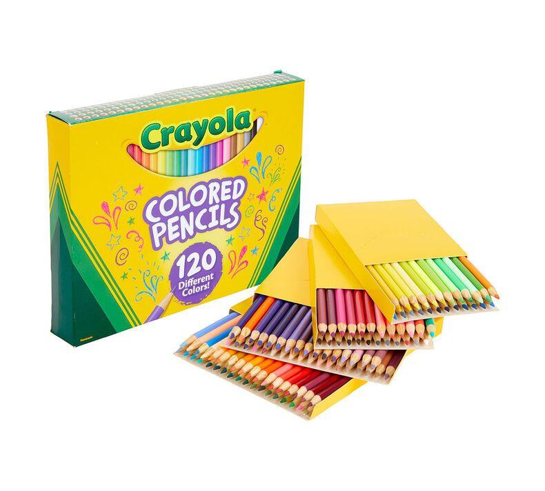 Colored Pencils 120 Count Coloring Supplies Crayola Com