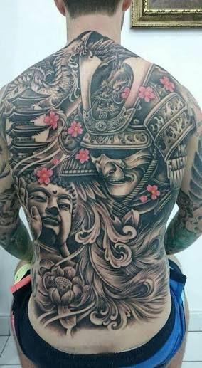 resultado de imagem para samurai tattoo tatoo pinterest samurai tatuagens e imagens. Black Bedroom Furniture Sets. Home Design Ideas