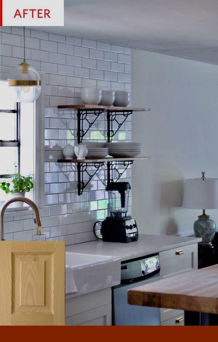 Refinishing Cabinets Metal #kitchenremodeling # ...
