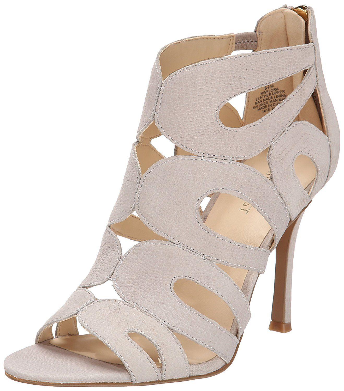 0dd226b48433 Nine West Women s Flora Nubuck Heeled Sandal     Find out more details by  clicking the image   Block heel sandals
