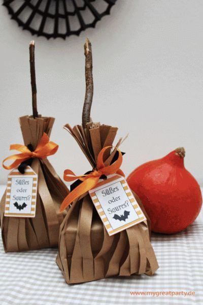 3 einfache Verpackungsideen für Halloween Mitgebsel #halloweencraftsfortoddlers
